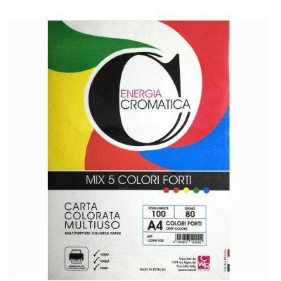 CARTA CROMATA FORTE 100FG A4 ASS