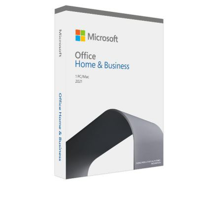 MICROSOFT  OFFICE HOME AND BUSINESS 2021 ITALIAN P8 EUROZONE 1 LICENSEMEDIALESS