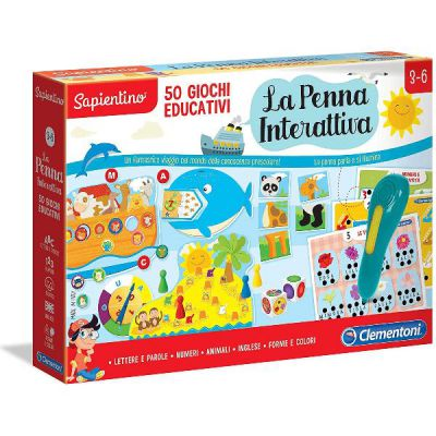 Penna Interattiva - 50 Giochi Edu