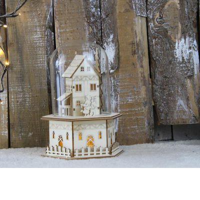 cupola casa in legno