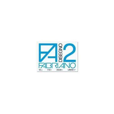 Blocchi a 4 angoli 20 Fg. Lisci  Linea Disegno 2 -- F.to 24x33 cm  110 g/m2 (Conf. 60)