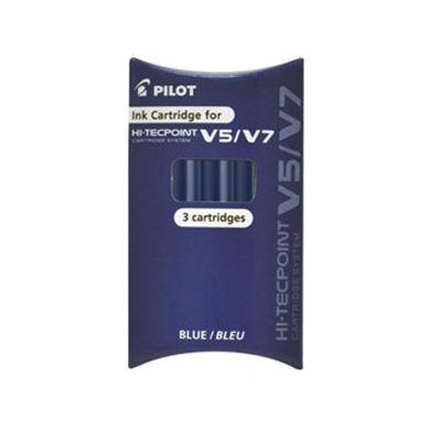 REFILL ROLLER HI-TECPOINT V5-V7 RICARICABILE BLU BEGREEN PILOT (3 PZ)