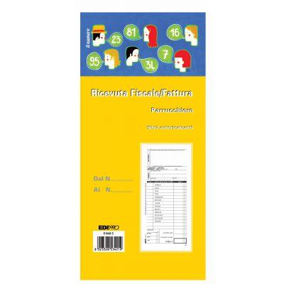 EDIPRO - BLOCCO FATTURA / RICEVUTA FISCALE PERSONAL. 9.9 X 22.8  E5342CPER