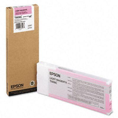 TANICA INCHIOSTRO A PIGMENTI COMP. EPSON T606C00 PRO 4800 MAGENTA CHIARO (220 ML)