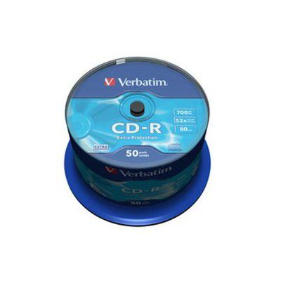 CD VERBATIM 700MB 52 X 50PZ + SIAE